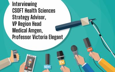 Interviewing CSOFT Health Sciences Strategy Advisor, VP Region Head Medical Amgen, Professor Victoria Elegant
