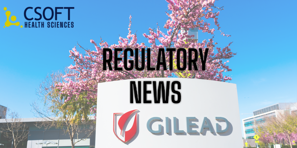 FDA Rejects Gilead's Rheumatoid Arthritis New Drug Application