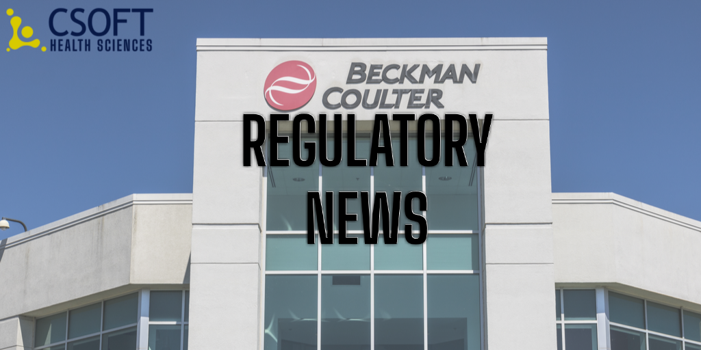 FDA Grants EUA to Beckman Coulter's COVID-19 Antibody Test