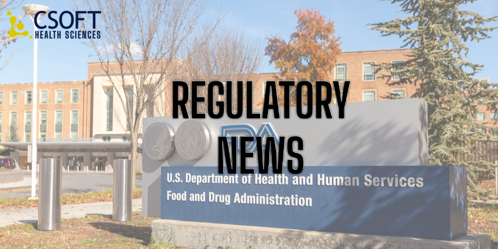 FDA Provides New & Revised Product-Specific Guidances